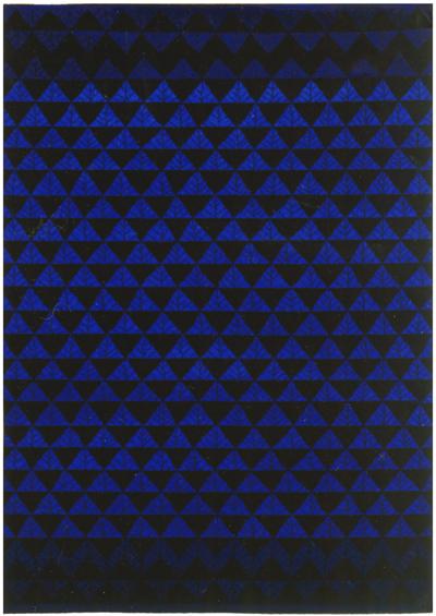 Blå matta Kastrup