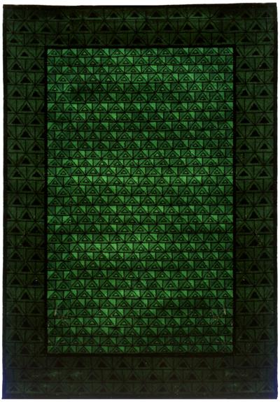Grön matta Kastrup